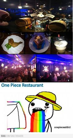 One Piece Restaurant. I want to own it.