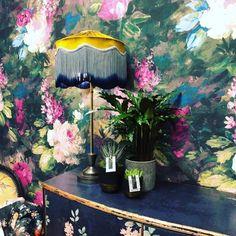 AVA MARIKA - ELECTRIC Bold Wallpaper, Unique Wallpaper, Magnolia Wallpaper, Neutral Paint, Green Plants, Designer Wallpaper, Ava, Digital Prints, Colours