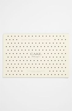 $26.19 Kitchen Papers by Cake 'Pen & Ink' 50 paper Placemats | Nordstrom
