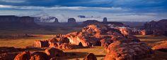 Hunts Mesa, Monument Valley Tribal Park, Arizona