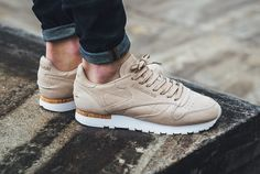 Chaussure Reebok Classic CL Leather LST Cork beige