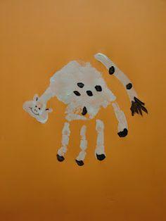 Hand Print Animals   Chasing Chalk