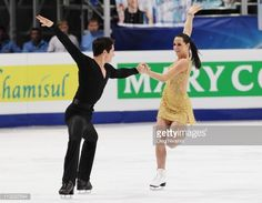 MOSCOW, RUSSIA - APRIL 30: Tessa Virtue and Scott Moir of Canada skate their free dance program in the ice dance category during day seven of the 2011 World Figure Skating Championships at Megasport Ice Rink on April 30, 2011 in Moscow, Russia. (Photo by Oleg Nikishin/Epsilon/Getty Images)