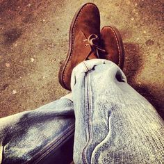 Instagram gives Clarks Desert Boots an extra touch of vintage.