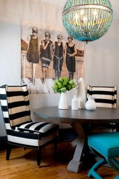 tobi fairley interiors | And this minty fresh hall that I saw on Tobi Fairley's site .