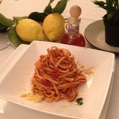 Spaghetti al mare d'inverno