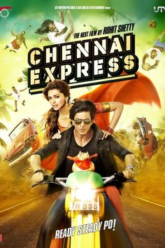 Chennai express with deepika and shah rukh khan