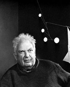 Alexander Calder - amazing american artist and inventor of the mobile