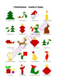 ... Blocks on Pinterest | Pattern Blocks, Mosaic Patterns and Printables