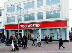 Woolworths in Worthing, East Sussex Worthing, Local History, My Town, East Sussex, Looking Back, Old And New, Old Photos, Nostalgia, England
