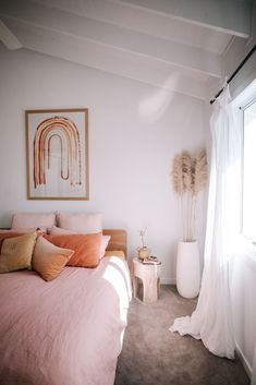 Step Inside Ellie Bullens Beach Inspired Home – harpers project Room Ideas Bedroom, Home Decor Bedroom, Art For Bedroom, Bedroom Inspo, Bedroom Minimalist, The Design Files, Aesthetic Bedroom, Dream Rooms, My New Room