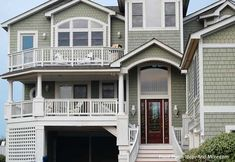 Front porches, shaker siding...ridiculously gorgeous!