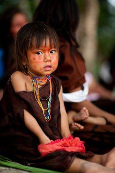The Ashaninka of Peru and Brazil Acre, AC by Ministério da Cultura Precious Children, Beautiful Children, Beautiful People, We Are The World, People Around The World, Xingu, Peru Travel, World Cultures, Cute Kids