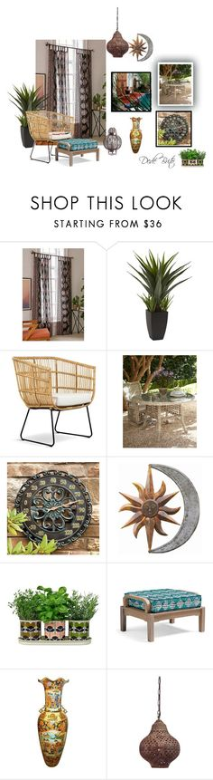 """""""Sem título #2780"""" by dedebrito ❤ liked on Polyvore featuring interior, interiors, interior design, home, home decor, interior decorating, Urban Outfitters, Improvements, Orla Kiely and Frontgate"""