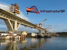 Puente internacional de Vidin-Calafat construido por la española FCC (Fomento de Construcciones y Contratas) en la frontera entre Bulgaria y Rumanía.