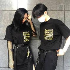Imagen de couple, korean, and asian