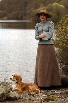 Miss Potter - lovely picture - Renée Zellweger and dog (2006)