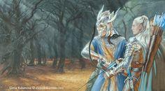 Strongbow and Dragonhelm by ekukanova.deviantart.com on @deviantART