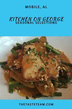 Kitchen on George Mobile, AL Seasonal Selections
