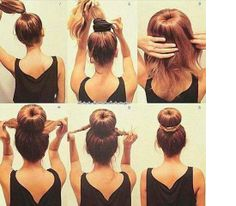 Cute easy hairstyle