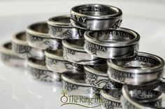 Silver State Quarter Ring .900