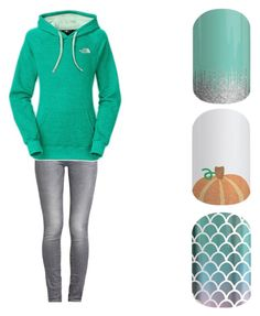 """Hoodys and Goodies"" by tansy-peschel-jamberry on Polyvore featuring GUESS and The North Face"