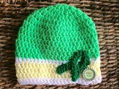 New Handmade Crochet Beanie Child Woman Celiac Disease Awareness Bottle Caps