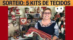 SORTEIO: 5 KITS DE TECIDOS PARA O NATAL | 13/10 AO VIVO | DRICA TV