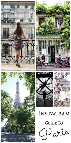 instagram guide to paris
