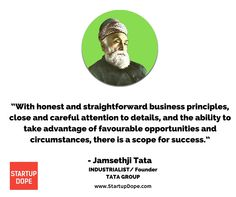Today marks the 177th birthday of Jamesthji Tata, Founder of Tata Group of companies.