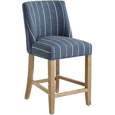 Pier 1 Imports Blue Corinne Counter Stool (€225) ❤ liked on Polyvore featuring home, furniture, stools, barstools, blue, blue stool, blue counter stool, pier 1 imports, blue bar stools and pier 1 imports furniture
