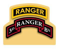 3rd Ranger Battalion Table Top Sign
