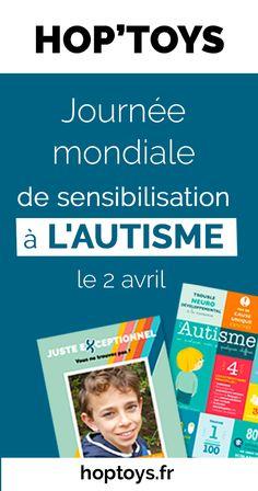 Mobilisons-nous pour la journée de sensibilisation à l'autisme. Découvrez des actions que vous pouvez mener. Avril, Autism Awareness Day, Tools
