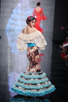 Fotografías Moda Flamenca - Simof 2014 - Atelier Rima 'Lluvia de Flores' Simof 2014 - Foto 10