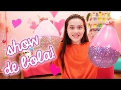como colocar vários balões dentro de um balão transparente - cores do tema vingadores - YouTube