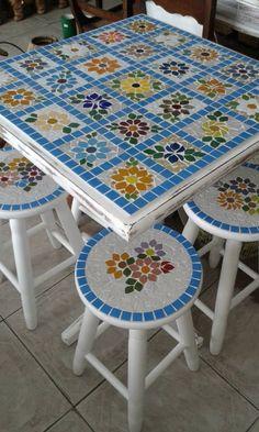 New Ideas Garden Art Crafts Mosaic Tiles Tile Art, Mosaic Art, Mosaic Glass, Mosaic Tiles, Mosaics, Stained Glass, Mosaic Crafts, Mosaic Projects, Diy Projects