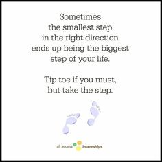 Just take the step! | #motivationmonday #rd2be