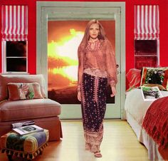 Martha Rosler, Red and White (Baghdad Burning) Photomontage, Iraqi Women, Red Kitchen Accessories, Mass Culture, Consumer Culture, Flag Painting, Latest Series, Beautiful Series, Experimental Photography