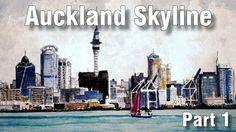 Online Art Class - Painting a City Skyline (Part - Paint Basket TV Art Lessons Online, Online Art Classes, Basket Tv, Watercolour Tutorials, Painting Tutorials, Online Painting, Painting Classes, Painted Baskets, Funny Art