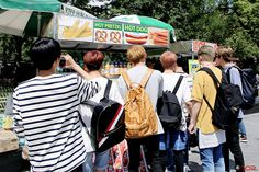 [STARCAST] UP10TION in New York!  #Sunyoul #선율 #kuhn #쿤 #wei #웨이 #gyujin #규진 #bitto #비토  #hwanhee #환희 #xiao #샤오 #업텐션