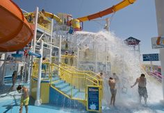 Waterworks on Carnival Breeze  Photo: Carnival Cruise Lines
