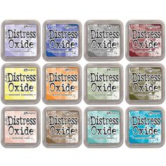 It's giveaway time at Blitsy! Win all of the New Tim Holtz Distress Oxide Ink Pad Colors!