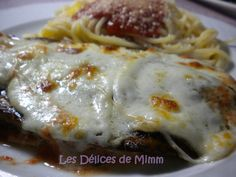 Escalopes de veau à la parmigiana Lasagna, Favorite Recipes, Chicken, Ethnic Recipes, Grisaille, Recipes, Veal Scallopini, Meat, Other Recipes