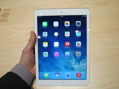 Hands On With the Apple iPad Air