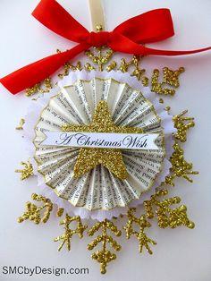 Christmas diy ornament with dollar tree