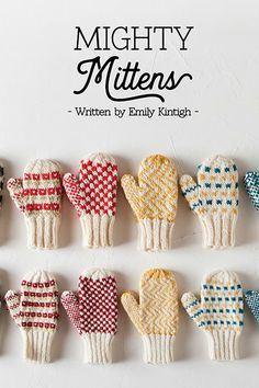 Mighty Mittens: A Choose Your Own Mitten Adventure Mighty Mittens Collection 2018 Record of Knitting Wool rotating, weaving and sewing careers such as for example BC. Knitted Mittens Pattern, Loom Knitting Patterns, Knitting Blogs, Knitting Wool, Knit Mittens, Knitting Stitches, Knitting Socks, Knitting Projects, Hand Knitting