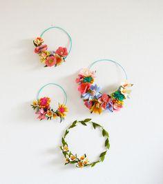 BBloesem Kids | Bloesem Class: Felt flower making with Rubyellen Bratcher of MyCakies
