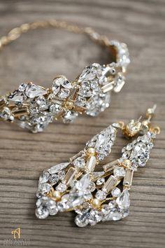 stunning wedding jewelry; photo: Amy Anaiz