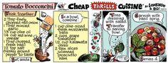 Cheap Thrills Cuisine Comic Strip, October 01, 2014 on GoComics.com