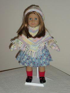 Ravelry: frandy's AG poncho, hat, and gloves